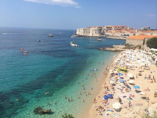 Hotel Excelsior Dubrovnik: 途中