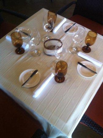 Steinbeck's Restaurant : Nice Seting