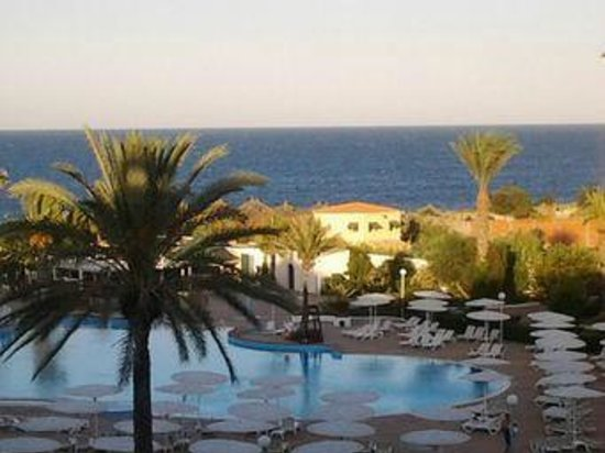 El Mouradi Palm Marina : view from balcony