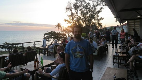 The Africa House Hotel: Restaurent View (SunSet)