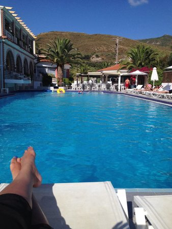 Meandros Boutique Hotel: Sunny pool