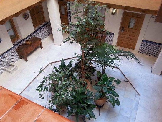 Sercotel Hotel Pintor el Greco : Inner atrium