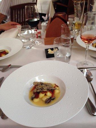 Restaurant JYS : Gnocchis et truffes : un pur délice