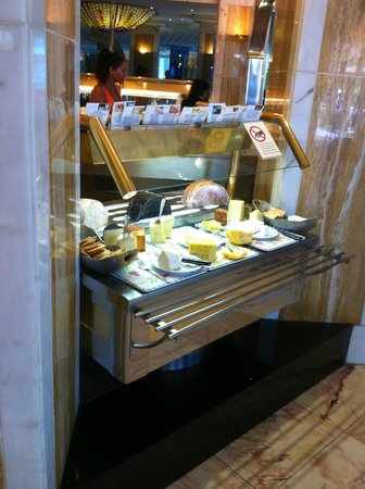 Bull Eugenia Victoria & Spa: les fromages