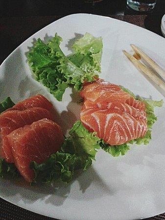 Zyu Fushion Restaurant: salmone gnam