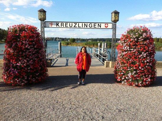Seegarten: Kreuzlingen boots haven nice place