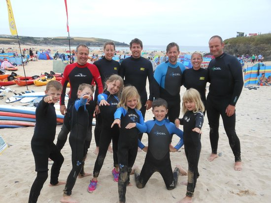 Harlyn Surf School: Cornwall 2014