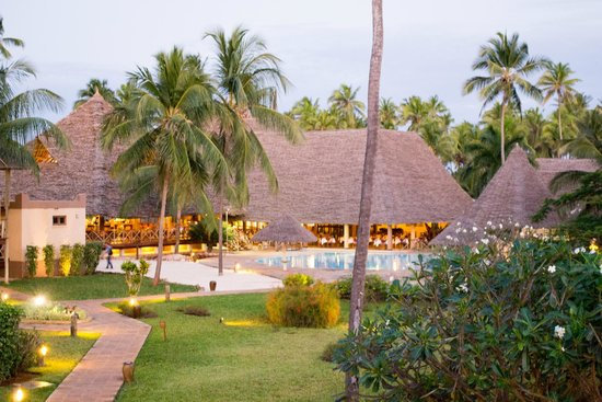 Neptune Pwani Beach Resort & Spa: Evening room view