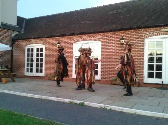 The Masons Arms: Morris Dancers