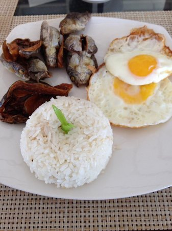 Anika Island Resort: Filipino Breakfast