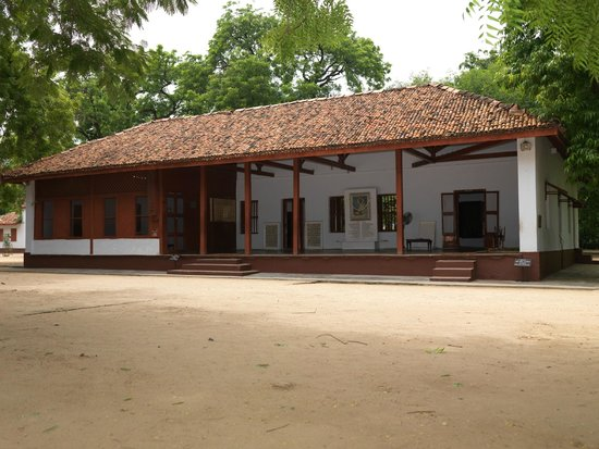 Sabarmati Ashram / Mahatma Gandhi's Home: Hridaykunj... the heart of the Ashram where Mahatma Gandhi had spent significant days of his lif