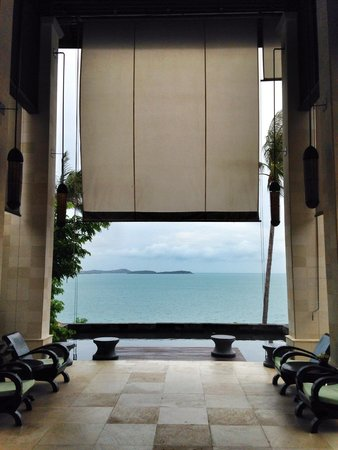 The Kala Samui: View from reception