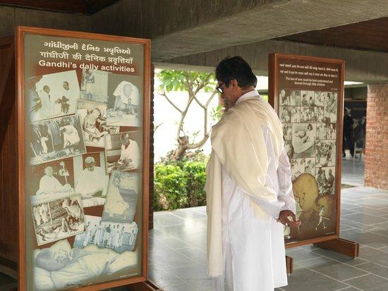 Sabarmati Ashram / Mahatma Gandhi's Home: Pause and ponder