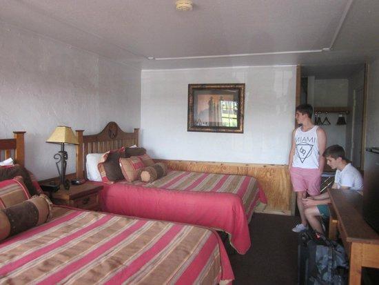 Big Texan Motel: The boy's rooms