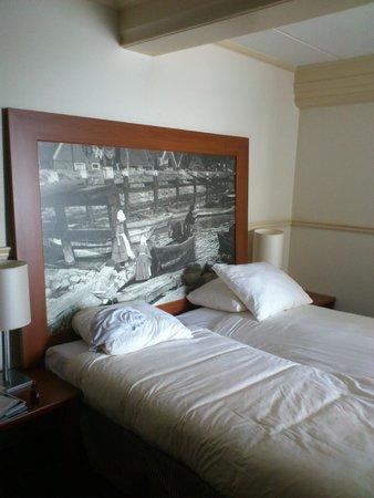 """Hotel Spaander: Prachtig """"Hoofdbord"""""""
