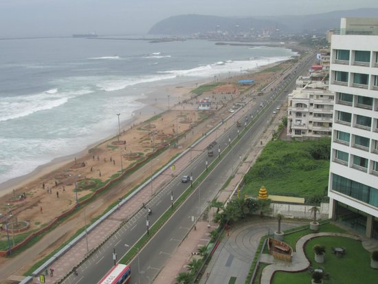 Novotel Vishakhapatnam Varun Beach: view