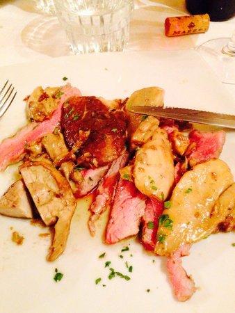 Ristorante Il Cantuccio : Tagliata con porcini freschi