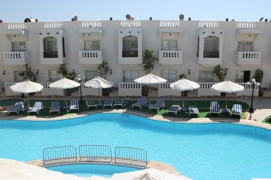 Oriental Rivoli Hotel: Udsigten fra vores balkon