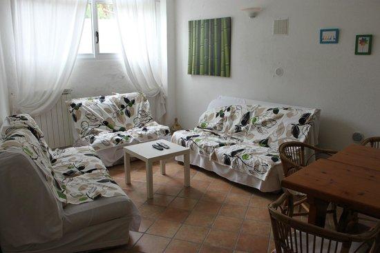 Hotel Villa Janto: Aufenthaltsraum