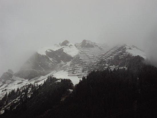 Jungfraujoch: Rocks Rocks ...Rocking Away up the Slopes of Alpine Mountains on the way to Jungfrau, Switzerlan