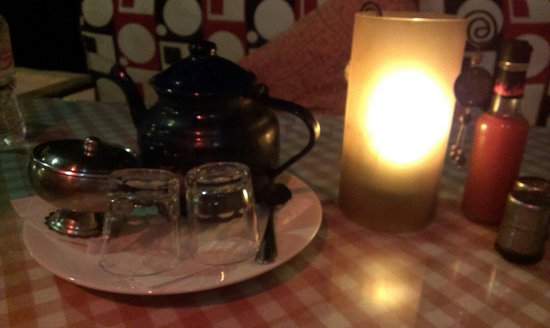 Nemo: Tea with candle light