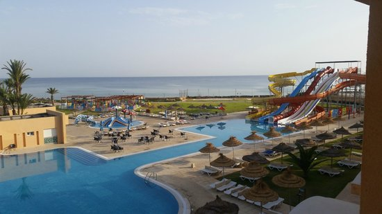 Skanes Family Resort: View from room 4219