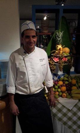 Atlantica Club Sungarden Hotel: Der Sous-Chief präsentiert
