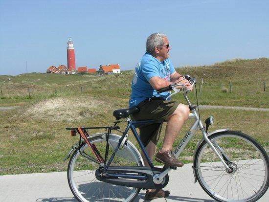 """Hotel De Branding: Wij zijn gaan fietsen in"""" De Koog"""""""