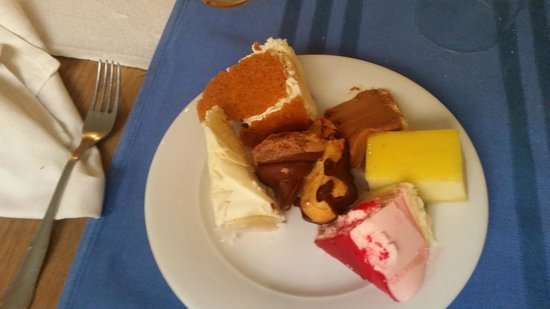 Skanes Family Resort: just a selection of fab deserts