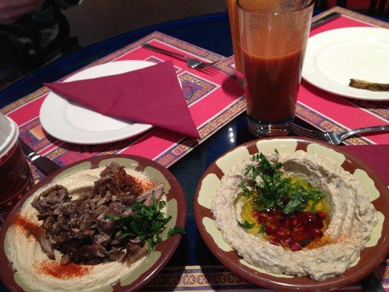 Maroush: Humus & Moutabel