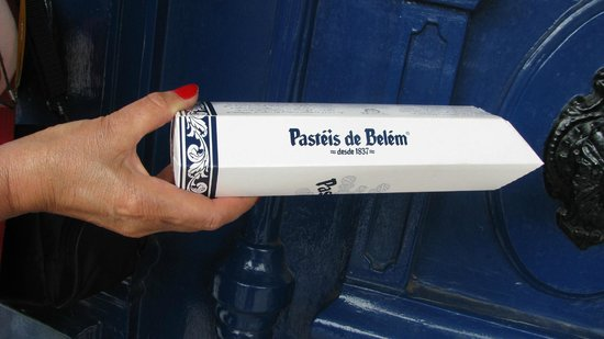 Pasteis de Belem : paket