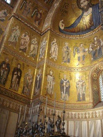 Duomo di Monreale: apsis detay