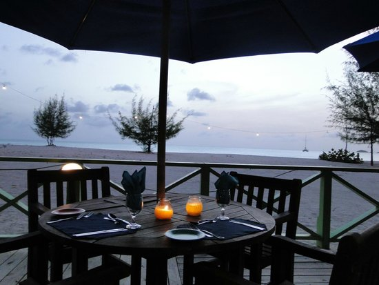 Jolly Beach Resort & Spa : view from the fish grill