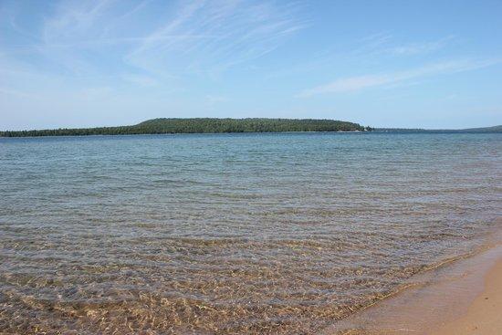 Munising Tourist Park Campground: Grand Island
