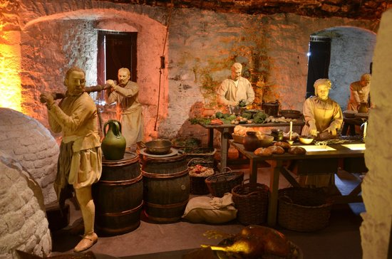 Stirling Castle: la cucina