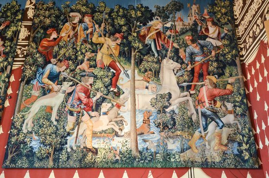 Stirling Castle: un arazzo