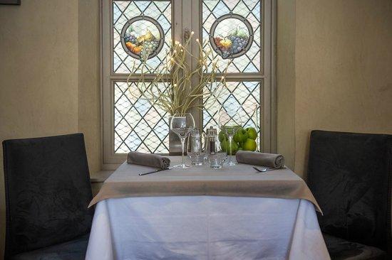 Restaurant La Lieutenance : Table romantique