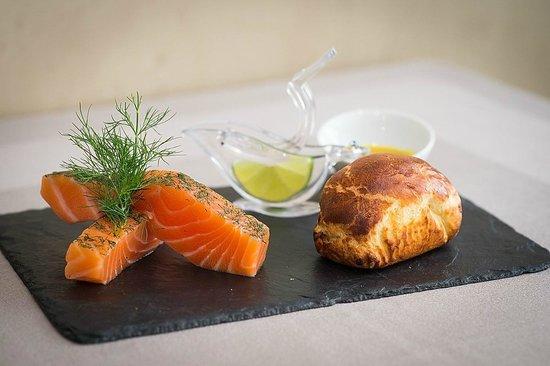 Restaurant La Lieutenance : Saumon gravlax
