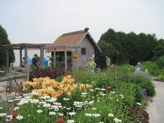 Looking west toward the shed during open house picture for Garden shed tripadvisor