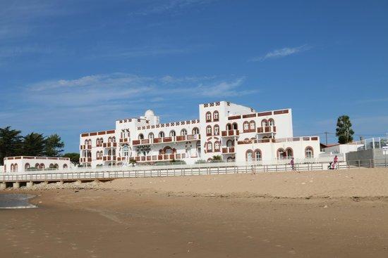 Vacancéole - Résidence de l'Océan : Vue coté plage