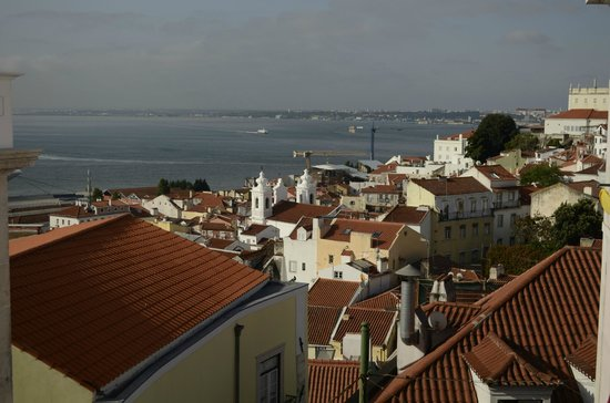 Alfama Patio Hostel: the view