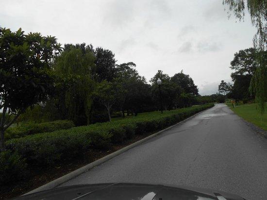 Brunswick Plantation Golf Resort: Driving in