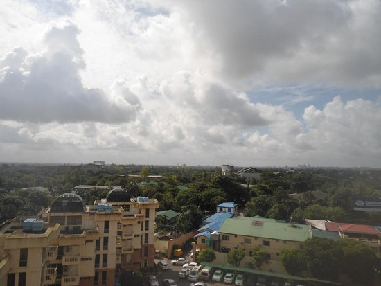 Yangon International Hotel : View from the 7th Floor