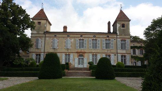 Château de Degrés : back