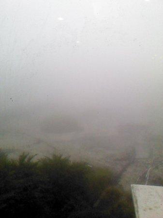 Kyushu Hotel : こんな天気でした。ρ(・・、)