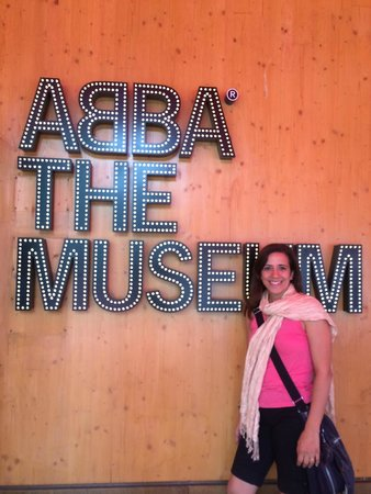 ABBA The Museum: At the entrance
