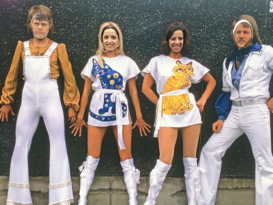ABBA The Museum: The photo shoot :)