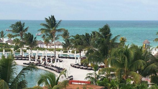 Secrets Maroma Beach Riviera Cancun: View from the Preferred Ocean View 4th Floor Bldg 25