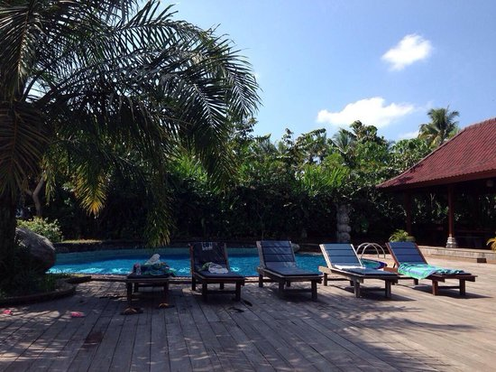 Bhuwana Ubud Hotel: Poolside bhuwana