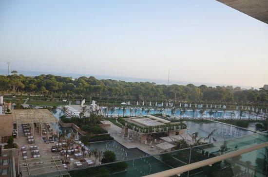 Regnum Carya Golf & Spa Resort: sea view